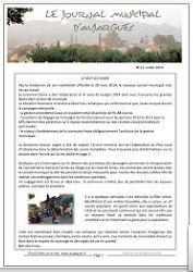 Journal municipal n°13 - Juillet 2014