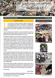 Journal municipal n°15 - Juin-2015