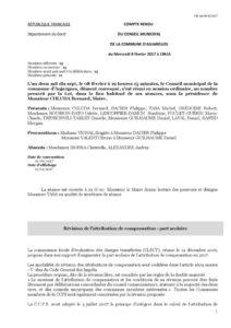 Compte-rendu du Conseil Municipal du 08février2017 (pdf)