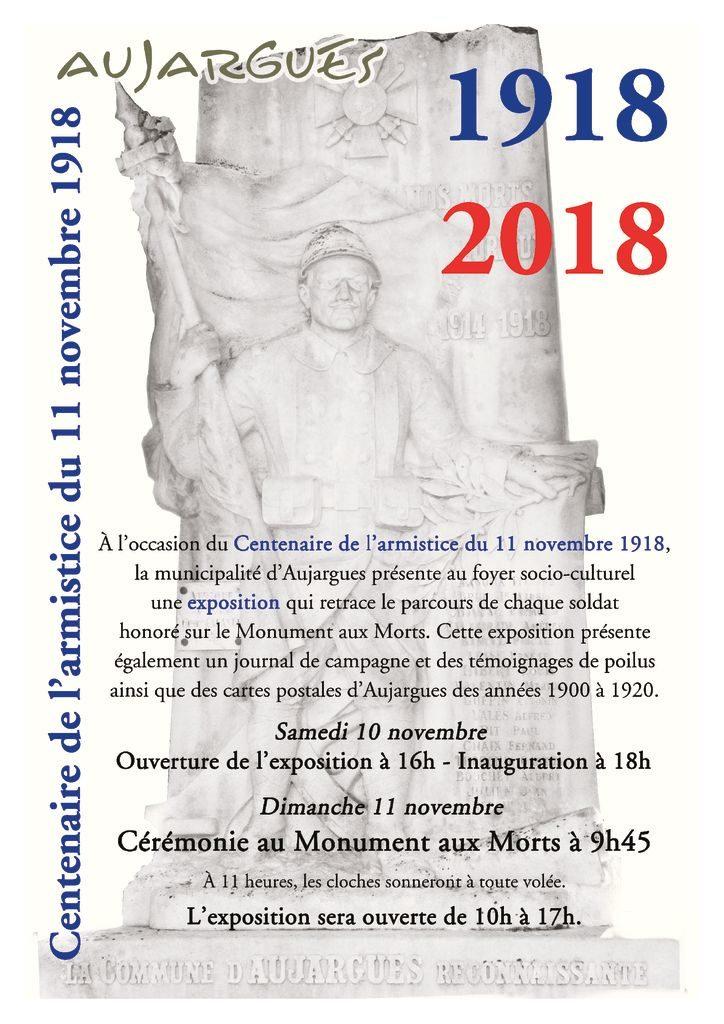 thumbnail of aujargues-monument aux morts