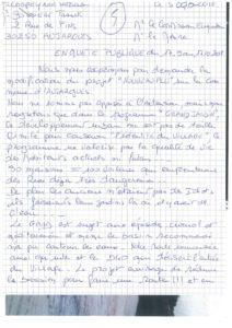 Observation n°5 - Courrier de Mme Compeyronn et M. Boissière