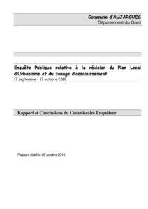 Rapport final du commissaire enquêteur (pdf - 4 Mo)