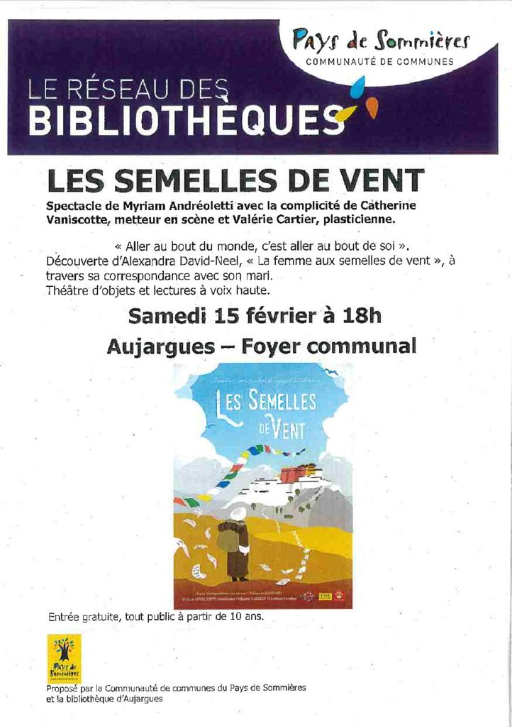 thumbnail of Réseau des bibliothèques – Les semelles de vent