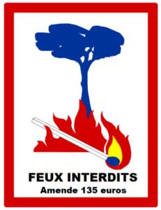 FEUX INTERDITS AMENDE