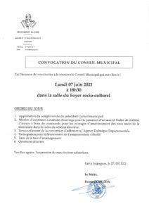 thumbnail of Annule et remplace – Convocation CM du 07-06-21(1)